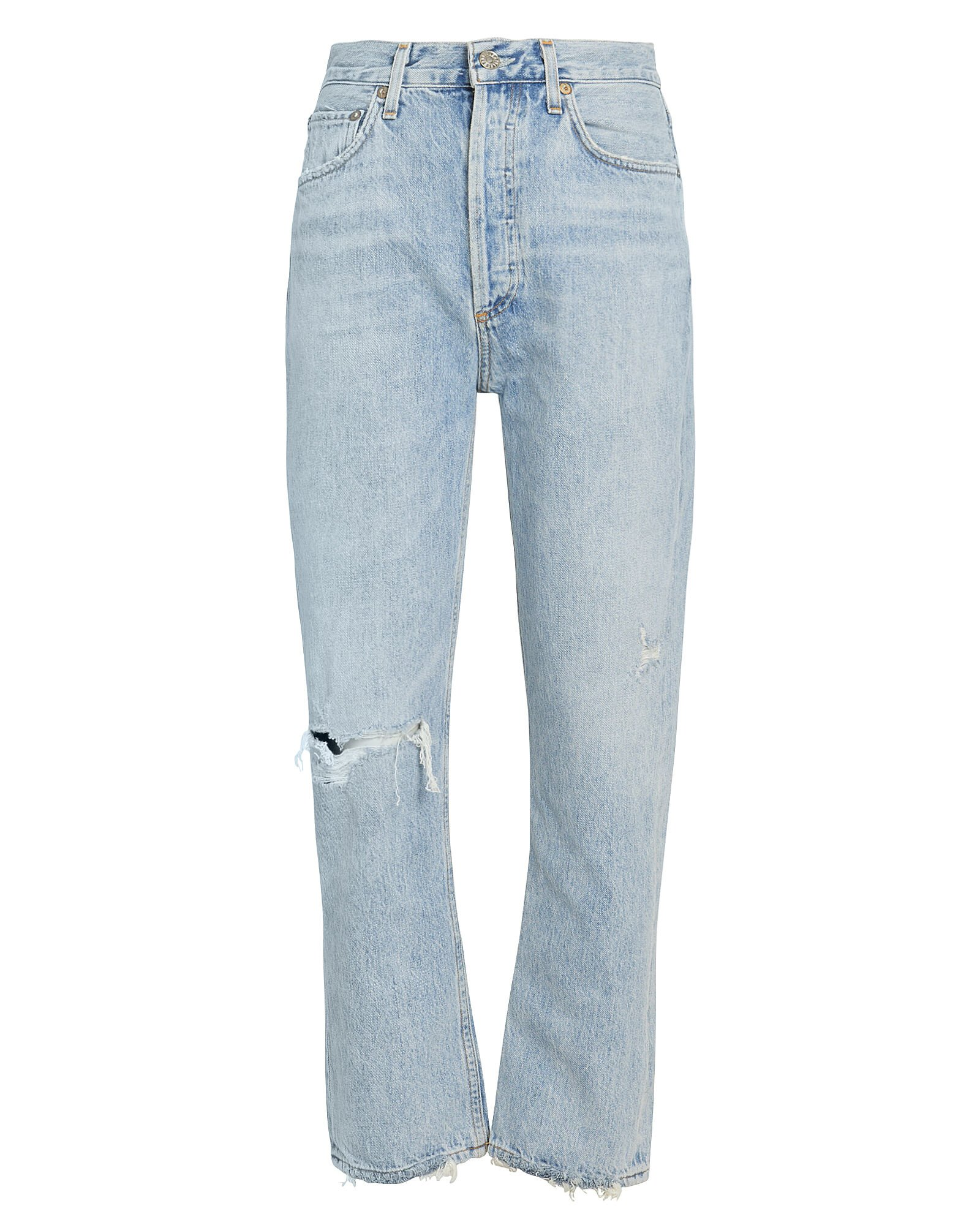 Riley High-Rise Cropped Jeans, Shatter, hi-res