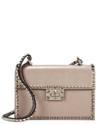 Rockstud No Limit Crossbody Bag, BEIGE, hi-res