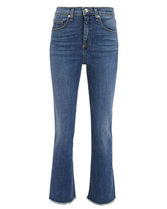 Carly Kick Flare Jeans, DENIM, hi-res