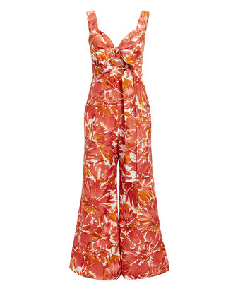 Bermusa Watercolor Jumpsuit, MULTI, hi-res