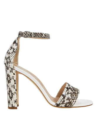 Lauratopri Block Heel Sandals, GREY, hi-res