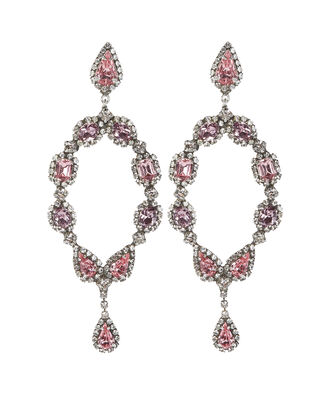 Ansel Crystal-Embellished Drop Earrings, , hi-res