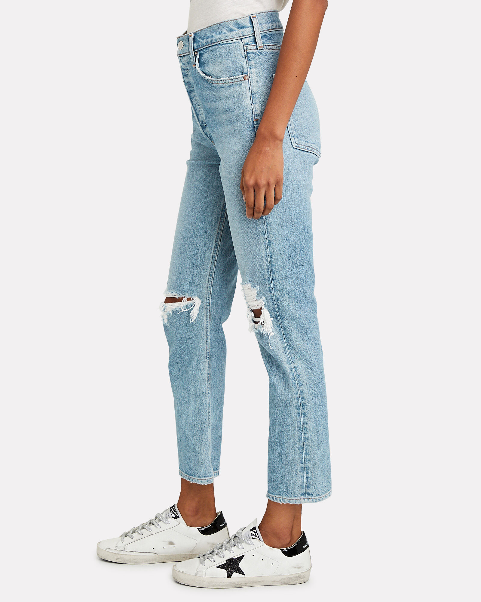 90s Fitted Straight-Leg Jeans, FALL OUT, hi-res