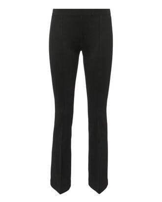 Crop Flare Leggings, BLACK, hi-res