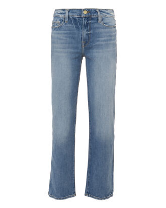 Nouveau Straight Leg Jeans, DENIM, hi-res