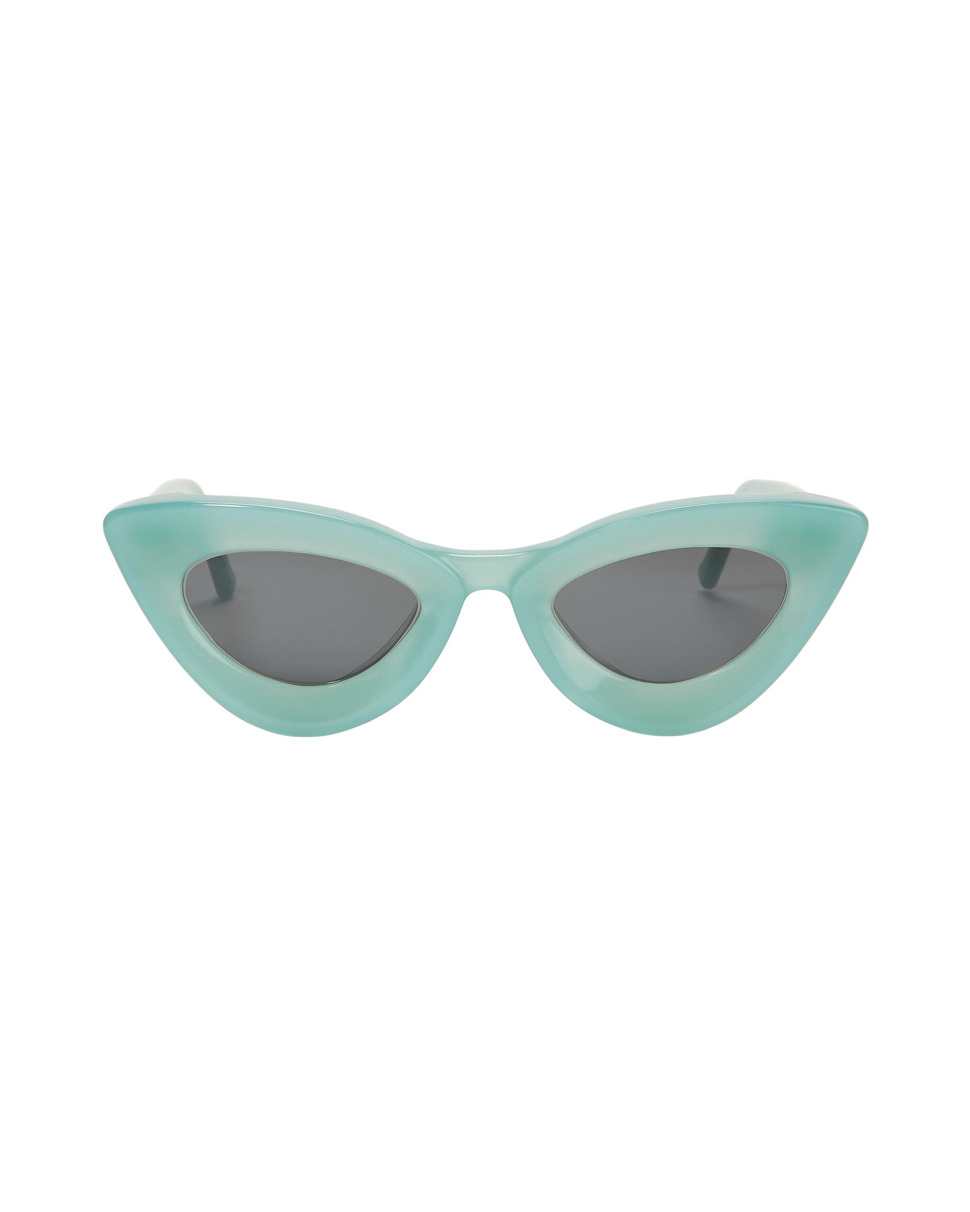 Iemall Green Cat Eye Sunglasses, GREEN-LT, hi-res