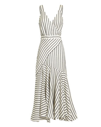 Marinere Stripe Midi Dress, MULTI, hi-res