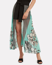 Blanche Pleated Skirt, BLUE-MED, hi-res