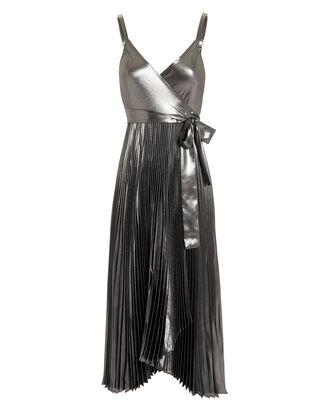 Kristo Midi Dress, SILVER, hi-res