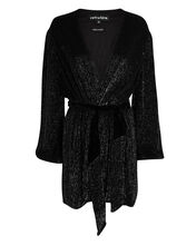 Gabrielle Sequin Mini Dress, BLACK, hi-res