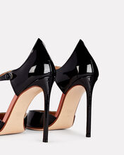 Point Back Mary Jane Pumps, BLACK, hi-res