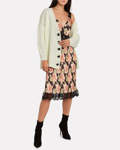 Mika Heart Button Cardigan, IVORY, hi-res
