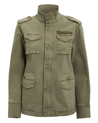 Army Green Jacket, ARMY GREEN, hi-res