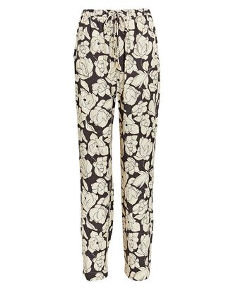 Tupsa Floral Wide-Leg Pants, PURPLE/IVORY, hi-res