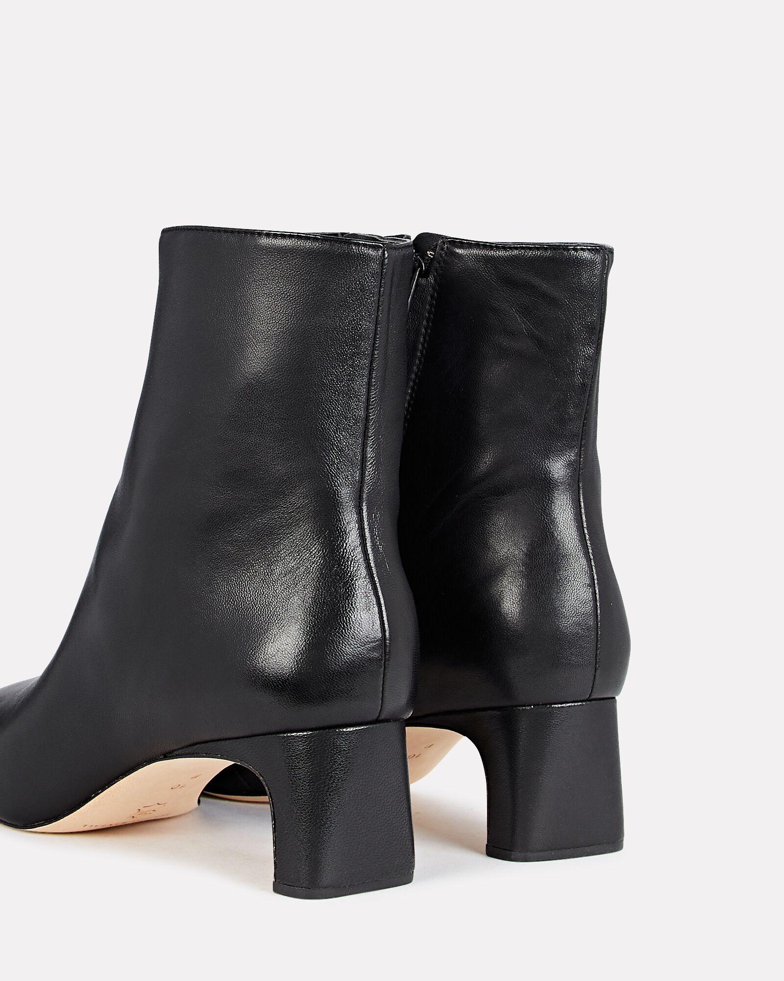 Lennon Leather Ankle Boots, BLACK, hi-res