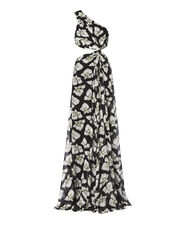 Goldie One Shoulder Maxi Dress, PRINT, hi-res