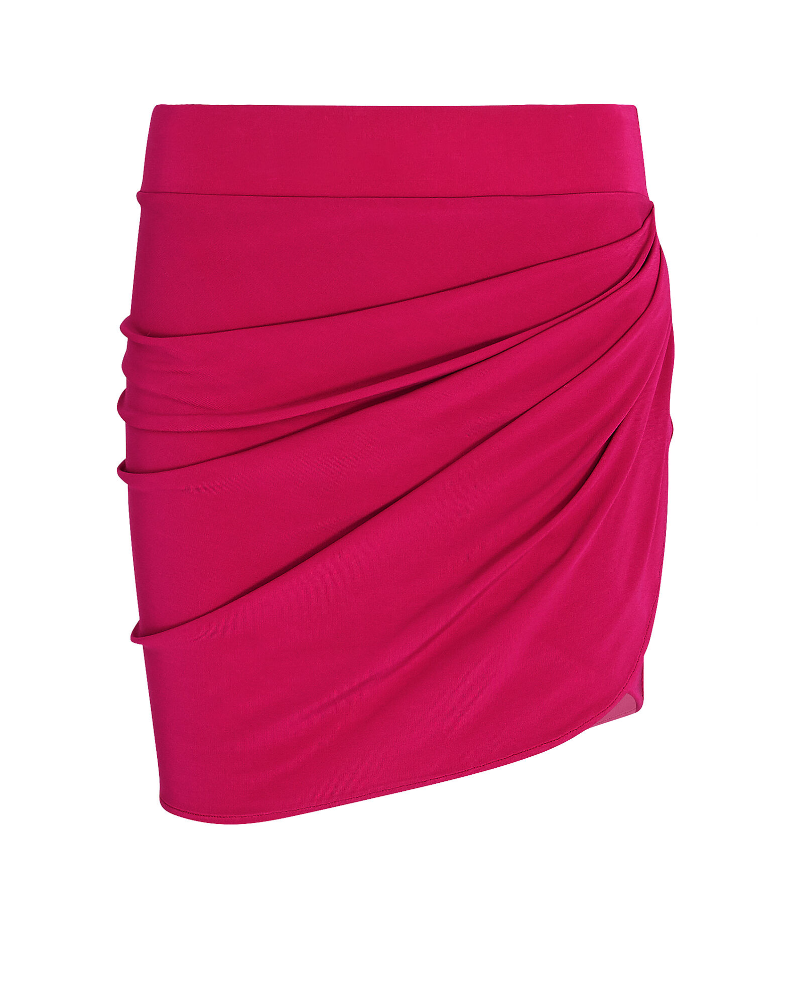 Cherson Velvet Mini Wrap Skirt, PINK, hi-res