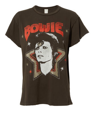 Bowie Stardust Distressed T-Shirt, BLACK, hi-res