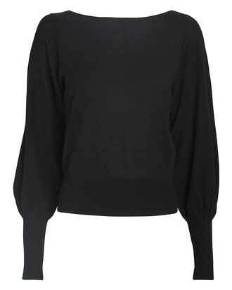 Henrietta Balloon Sleeve Sweater, , hi-res