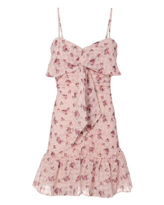 Lila Floral Dress, MULTI, hi-res