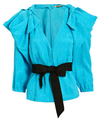 Ocean Drive Top, BRIGHT BLUE/BLACK, hi-res
