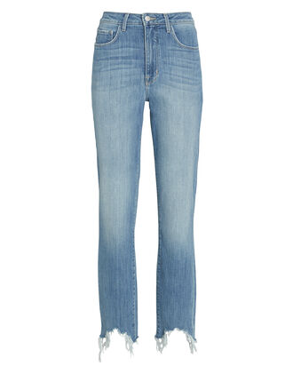 Harlem Distressed Skinny Jeans, DENIM, hi-res