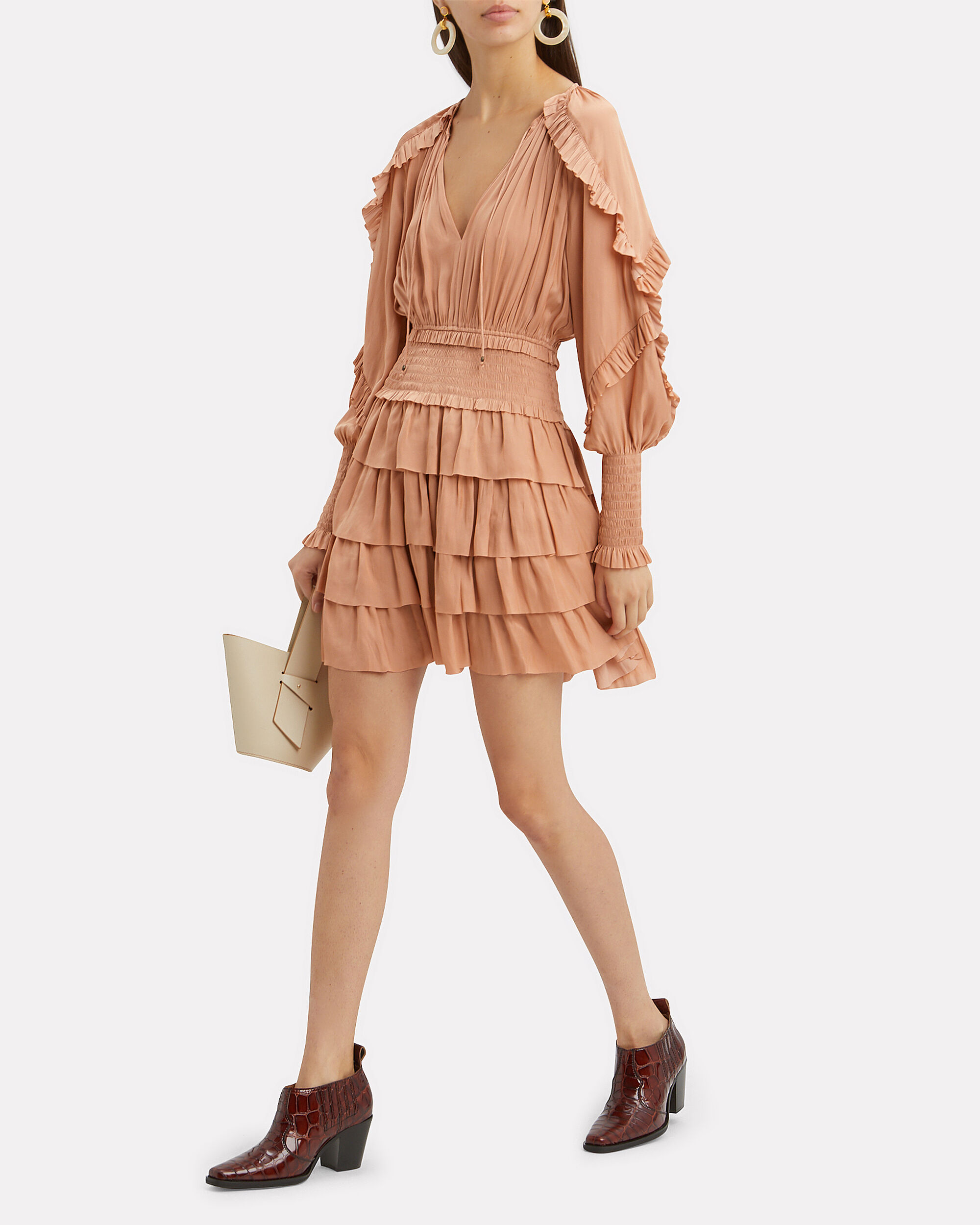 Soraya Dress, BEIGE, hi-res