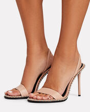 Nova Studded Slingback Sandals, , hi-res