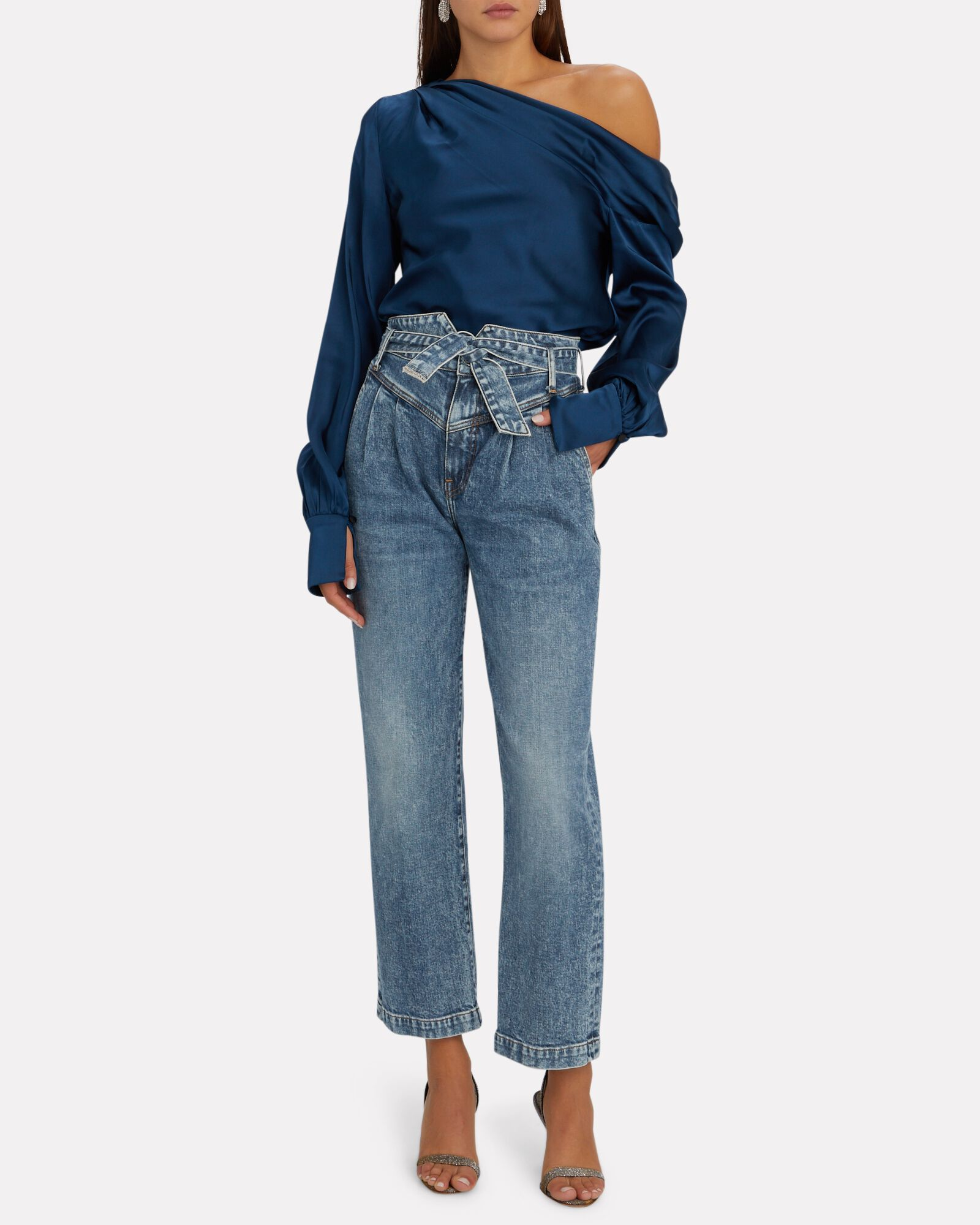 Theo Belted High-Rise Jeans, MULHOLLAND, hi-res