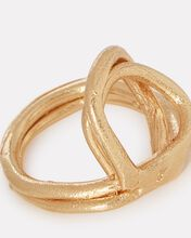 The Lia Twisted Ring, GOLD, hi-res