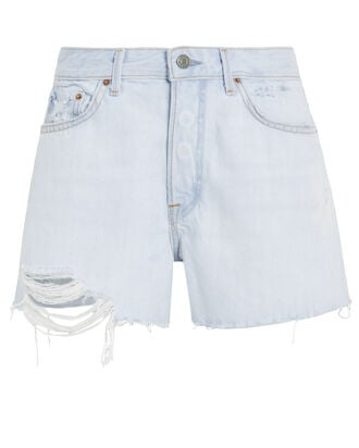 Helena Denim Shorts, DENIM-LT, hi-res