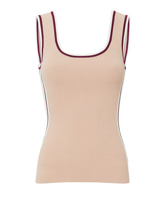 Obe Side Stripe Tank, ROSE, hi-res