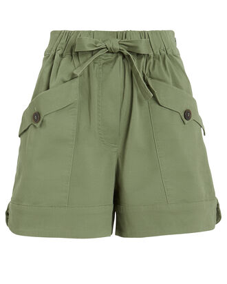 Tula High Rise Shorts, OLIVE/ARMY, hi-res