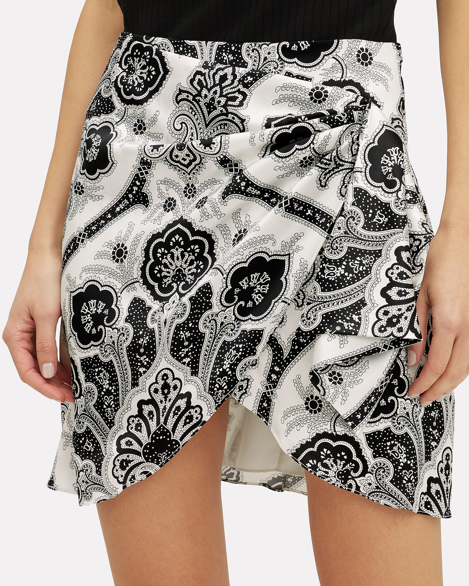 Koren Wrap Mini Skirt, MULTI, hi-res