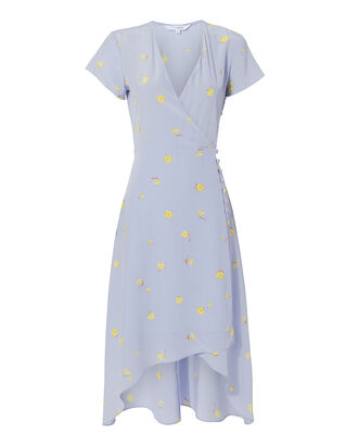 Olivia Wrap Dress, BLUE-MED, hi-res