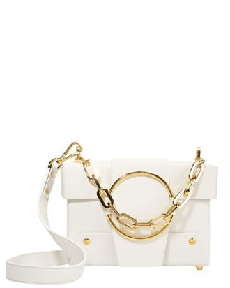 Asher Shoulder Bag, WHITE, hi-res