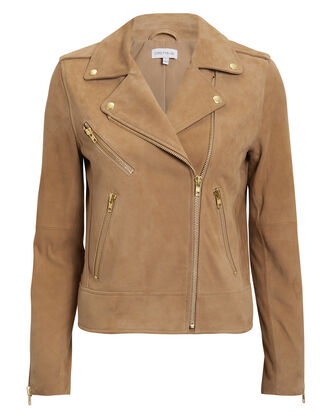 Frances Moto Jacket, BROWN, hi-res