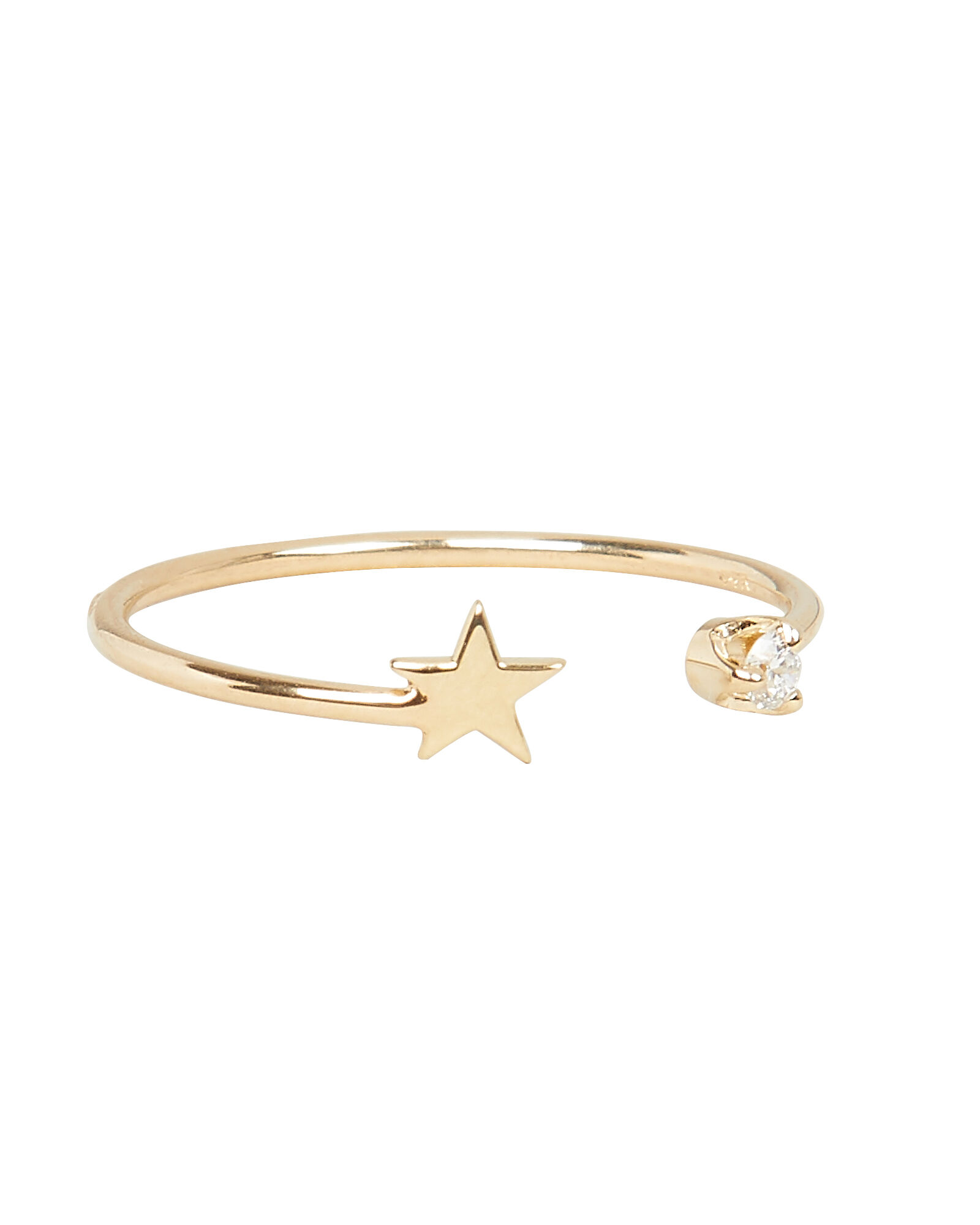 Itty Bitty Star Ring, GOLD, hi-res