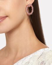 Fifi Stone Hoops, PINK, hi-res