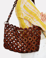 Jasmin Beaded Tote, BROWN, hi-res