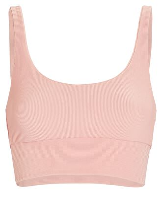 Leah Rib Knit Top, PINK, hi-res