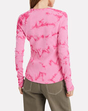 Tie-Dye Long Sleeve, PINK, hi-res