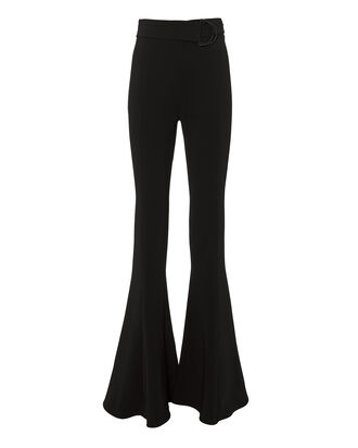 Carina High Waist Flare Pants, BLACK, hi-res