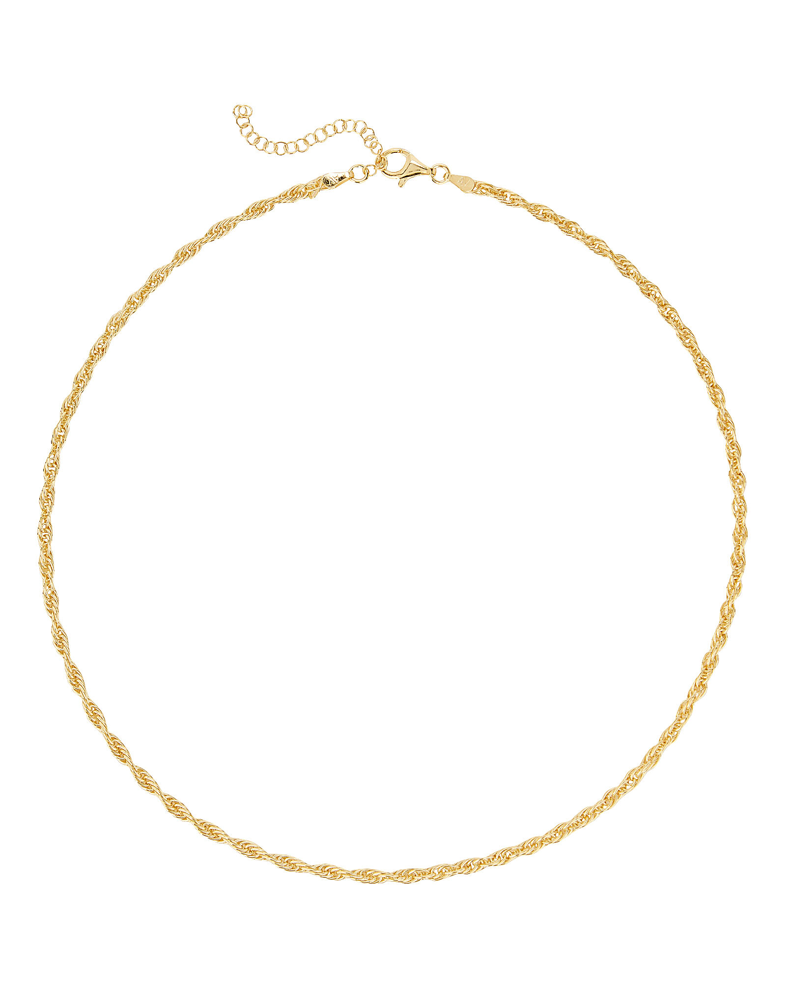 Lourdes Chain Necklace, GOLD, hi-res