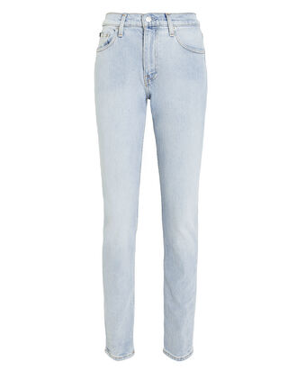 Iconic High-Rise Slim Jeans, DENIM-LT, hi-res
