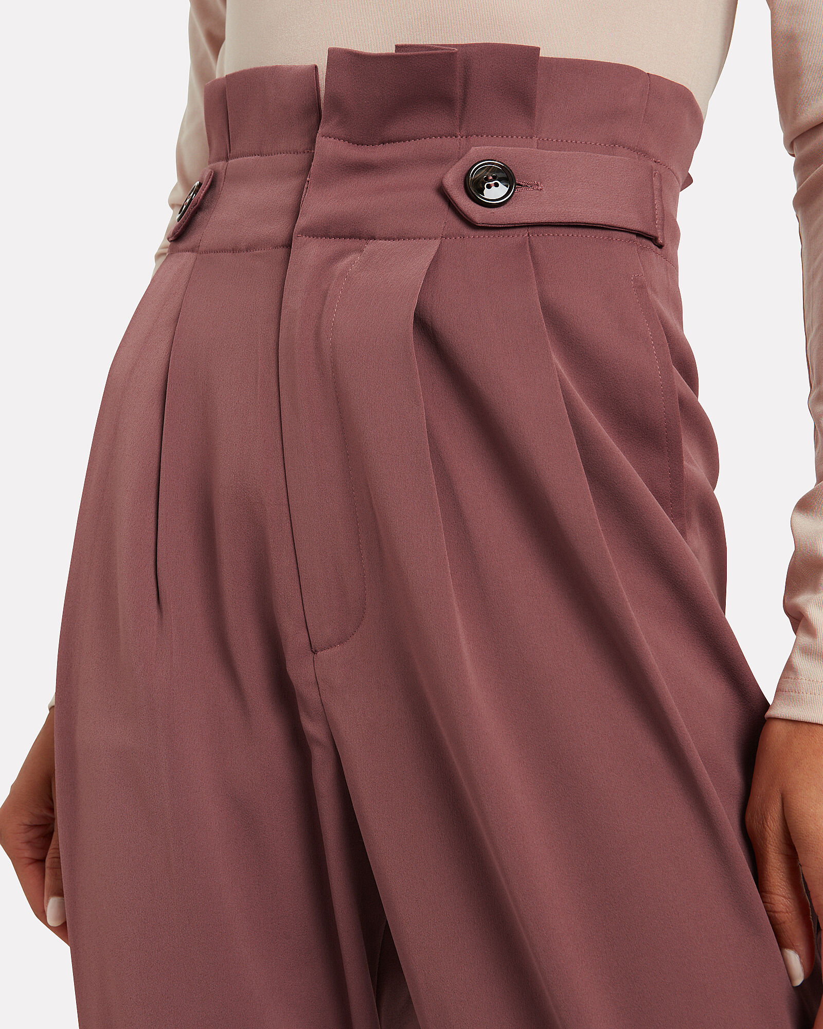 Life After Pleated Trousers, HENNA BROWN, hi-res