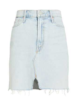 The Sacred Slit Denim Skirt, LIGHT WASH DENIM, hi-res