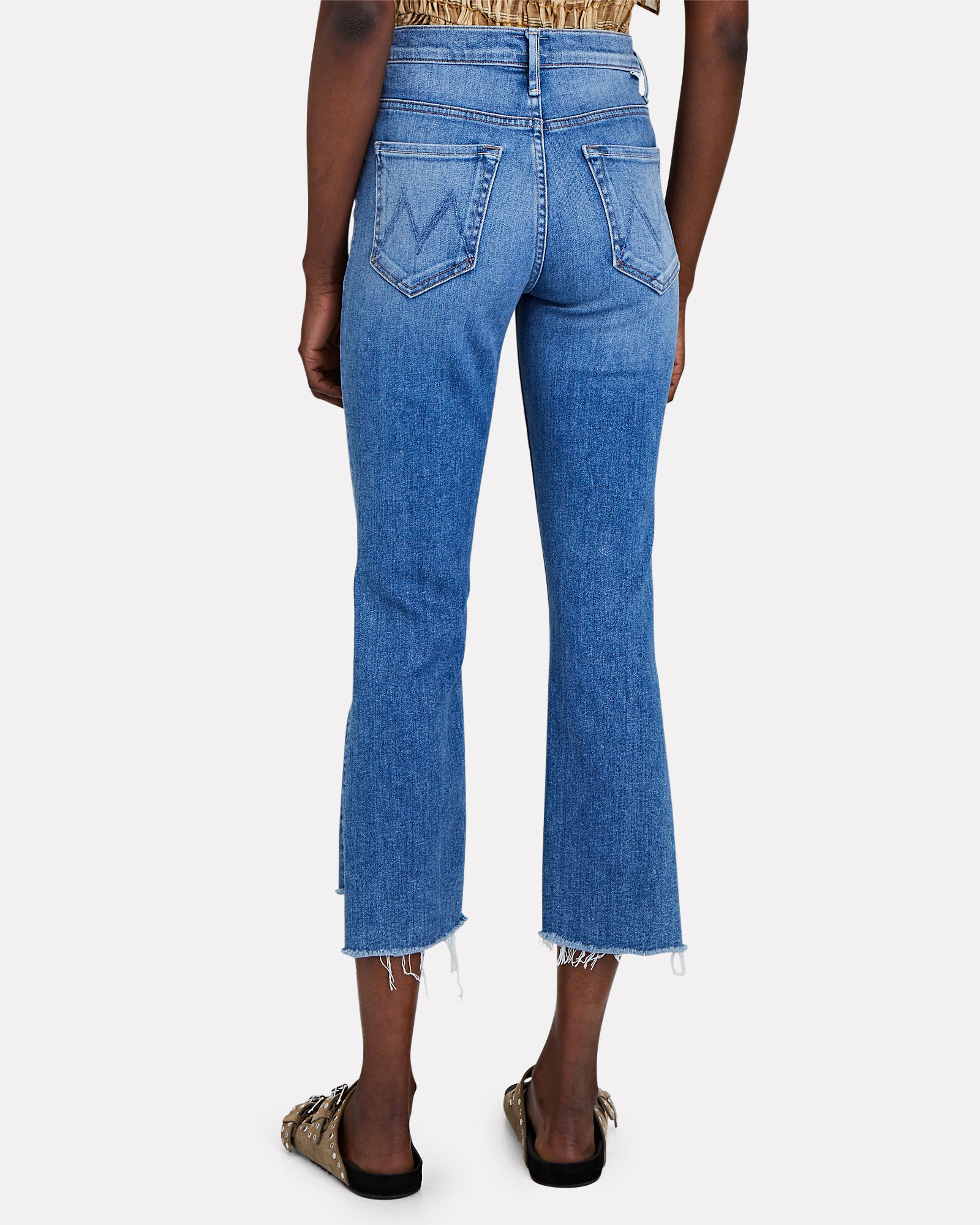 The Insider Crop Step Fray Jeans, HEY SUN, hi-res