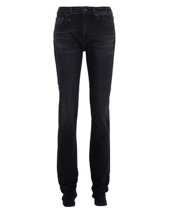 Alison High-Rise Skinny Jeans, BLACK, hi-res