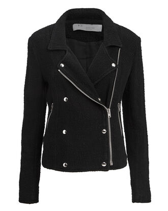 Avery Black Jacket, BLACK, hi-res